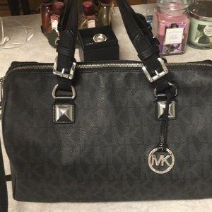 Huge Michael Kors duffle satchel bag